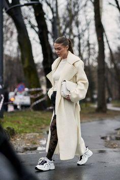 Attendees at Milan Fashion Week Fall 2018 - Street Fashion #fashionweeks,