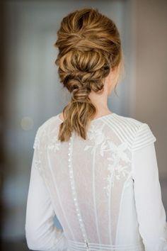 Boda Carmina y Nacho Bridal Beauty, Bridal Hair, Corte Y Color, Hair Locks, Bride Hairstyles, Hair Lengths, Hair Trends, New Hair, Hair Inspiration
