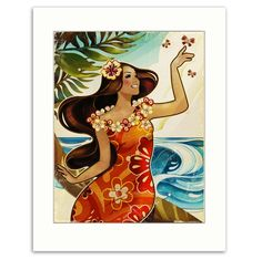 In the Ocean Breeze-Matted Print - For Autumn