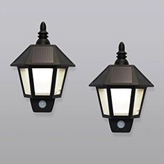 solar led wall lights,vintage design and provide security for home!