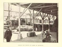 1920 ler #Mersin tren istasyonunda pamuk balyaları..