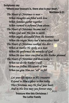Another Christmas Poem - I love the scripture verse for this one:)