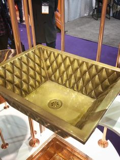 KBIS 2019 Kitchen and Bath Trends Thompson Trader Copper Sink with Bronze Finish