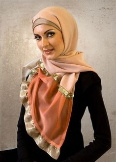 How to make turkish hijab style - hijab fashion trends for, A hijab is usually a scalp masking placed by muslim ladies. Arab Fashion, Trend Fashion, Turkish Fashion, Islamic Fashion, Muslim Fashion, Fashion Styles, Hijab Style 2014, New Hijab Style, Beautiful Muslim Women