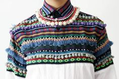 Christopher Shannon pom pom shirt - can there be too many pom-poms or tassels in the world? I think not.