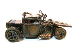 Hot Wheel Roadster Truck Altered by WithAllMyArt on Etsy,