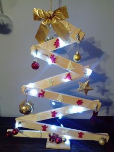 Design christmastree choinka z drewna