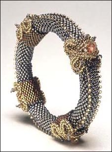 Cynthia Rutledge's Contemporary Designs of Timeless Elegance featured eye candy in Bead-Patterns.com Newsletter!