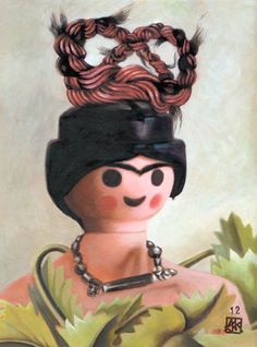 Playmobil Frida Kahlo
