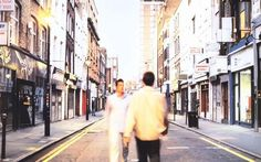 Exactly 20 years on from the Battle of Britpop, we uncover the locations of album cover images, music videos and first gigs Britpop, Album Covers, Music Videos, Street View, 20 Years, Roads, Musicians, Image, Battle