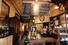 Sweetleaf, coffee house, NYC