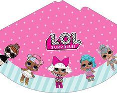 Колпак L.O.L. Surprise/ L.O.L. Surprise Cone Hat, L.O.L. Surprise Party, L.O.L. Surprise Party printable