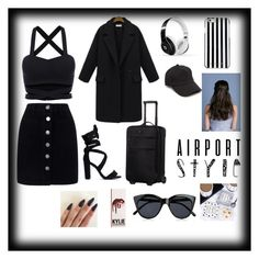 """""""Paparaziii!"""" by nonameavailable on Polyvore featuring Miss Selfridge, Victorinox Swiss Army, Beats by Dr. Dre, MICHAEL Michael Kors, rag & bone and Le Specs"""