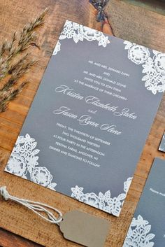 vintage ideas for wedding invitations 1