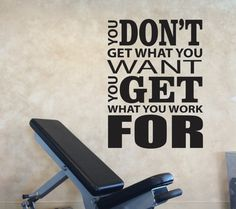 Cheap decor canvas art, Buy Quality art design decor directly from China art for wall decoration Suppliers: Home Gym Wall Decal Vinyl Sticker Motivation Quotes Don't Stop When You Are Tired Wall Decoration Exercise Decorative Wall Art Gym Room At Home, Home Gym Decor, Office Decor, Bedroom Office, Wall Stickers Quotes, Vinyl Wall Decals, Wall Quotes, Yoga Quotes, Inspirational Wall Decals