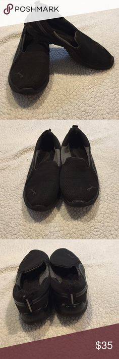 Puma memory foam shoes Most comfortable paid of shoes I have ever owned! Used them end of my pregnancy because my feet wouldn't fit in anything else, sadly now they are a size too big for me Puma Shoes Flats & Loafers