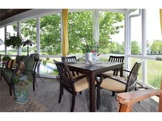 screened in porch at 18809 Eagletown  Westfield, IN, 46074