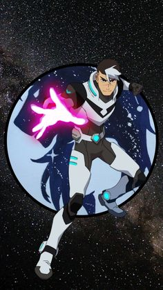 Shiro the Black Paladin of the Black Lion of Voltron from Voltron Legendary Defender