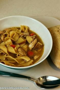 Persnickety Plates: Quick & Easy Chicken Noodle Soup