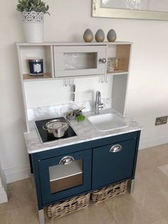 'Just a Little' Tom Howley Kitchen #ikeahack IKEA play kitchen hack