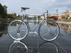 Conversion single speed by Bicycle Corner #fixedgear #fixie #bicycle #trackbike #Nice #singlespeed #fixed #pignon fixe #bicyclette #vélo #roue libre #conversion