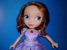 Disney Talking Sofia the First Doll Light up Necklace