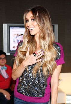 Giuliana Rancic's hair