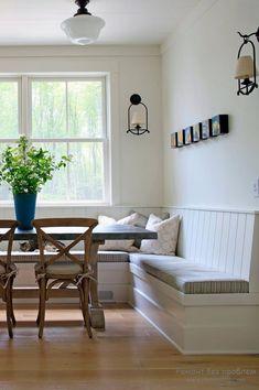 Красивое спальное место в просторной кухне — Мой дом