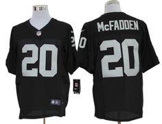 7fce0b143 Oakland Raiders  20 Darren McFadden Elite Jersey-Team Color Cheap Nba  Jerseys