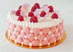 夢のマカロンづくし♡マカロンを乗せたケーキが可愛すぎる!のトップ画像