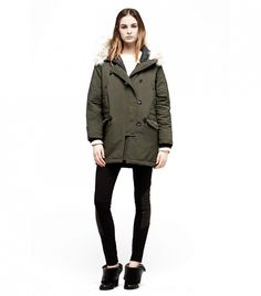 Rag & Bone Waterloo Parka in Olive // #Shopping