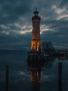 Lindau, Germania Beacon Of Light, Nature Artwork, Cn Tower, Lighthouse, Beams, The Darkest, Places To Visit, To Go, Corvettes