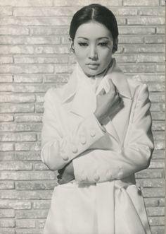 浅丘ルリ子 Ruriko Asaoka Chic-issime... Japan, 1960s.