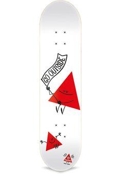 Inpeddo Triangle-By-Dave-The-Chimp - titus-shop.com  #Deck #Skateboard #titus…