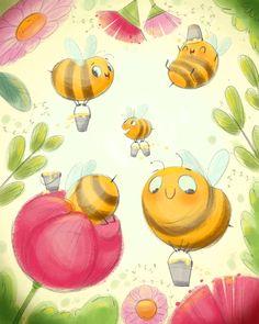 Jess von I: Honey bees
