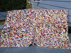 """2"""" Postage Stamp Quilt - Quilters Club of America"""