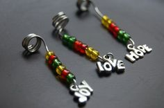 Joy, Hope & Love Loc Jewelry..Nice!