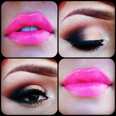 #pink #eyeshadow #lashes #maccosmetics loreleicakes Lora Arellano