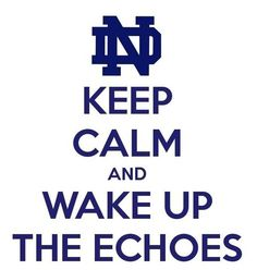 KEEP CALM AND HOOT ON. Another original poster design created with the Keep Calm-o-matic. Buy this design or create your own original Keep Calm design now. Irish Fans, Go Irish, Nd Football, Notre Dame Football, Noter Dame, Keep Calm And Love, My Love, Notre Dame Irish, Unc Tarheels