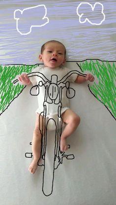 ambra wheeler mamma creativa 1 Una giovane mamma creativa trasforma il suo neonato con Photoshop
