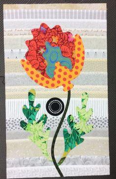 Flower Garden, Kim McLean - Block 21 (Laila Nelson)