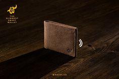 Woolet: The Slimmest Smart Wallet for the Modern Man by Woolet Co — Kickstarter