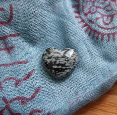 These little snowflake obsidian hearts invite in focus and help you in staying centered. They can also help remove negativity within or in your space. This can be a great stone to carry during difficult times and to have in a small workplace altar.