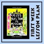 Miss Nelson is Missing: lesson plan for 1st wk of school; teach class expectations