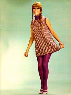 Вязаные платья 1960 годов – фото лучших моделей