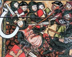 The death of King Olaf at the Viking Chief Tore Hund and his successful resistance against Christian conversion