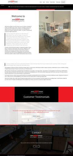 Website for kitchen and bath remodeling company Kitchen And Bath Remodeling, Service Awards, Modern Shop, Web Design, Website, Design Web, Website Designs, Site Design