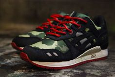 """BAIT x Asics Gel-Lyte III """"Camo"""" (Detailed Pics & Release Reminder)"""
