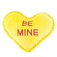 Luv-A-Pet™ Yellow Plush Heart - PetSmart $2.99 #pet #vday
