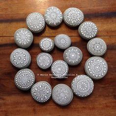 From 2014  #mandala #mandalas #mandalapebbles  #mandalastones #mandalaart #paintedrocks #paintedrock #paintedstone #paintedstones #paintedpebble #paintedpebble #stoneart #rockart #piedraspintadas